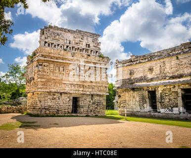 Church Building in Chichen Itza - Yucatan, Mexico - Stock Photo