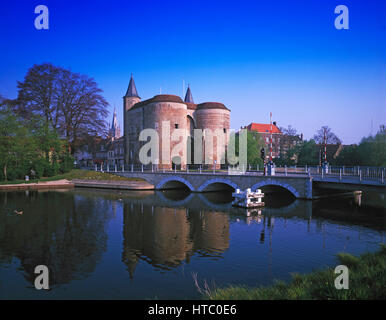 Gentpoort, Bruges, Belgium. - Stock Photo
