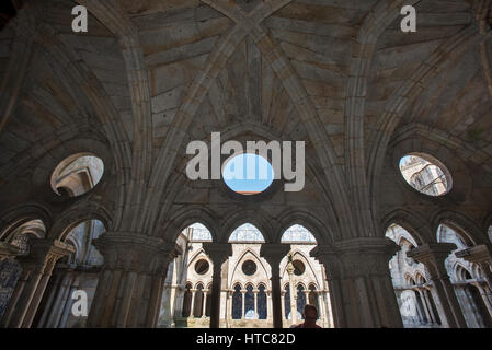 Cloister of Se Cathedral Porto - Stock Photo