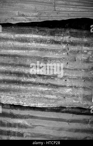 Tin window cover. The Bodie State Park is the remains of Bodie, a silver and copper mining town in the eastern California - Stock Photo
