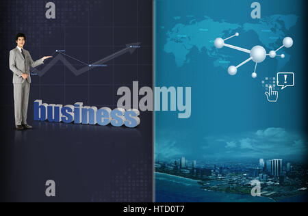 Blossom Economics - Stock Photo