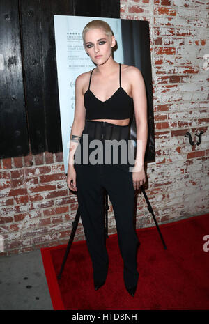 Los Angeles, Ca, USA. 08th Mar, 2017. Kristen Stewart, At Premiere Of IFC Films' 'Personal Shopper' At The Carondelet - Stock Photo