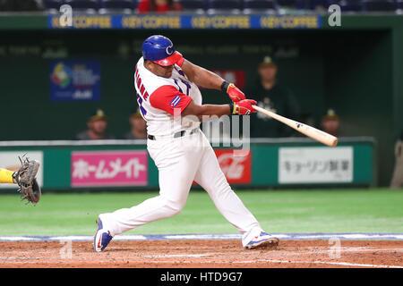 Tokyo, Japan. 10th Mar, 2017. Alfredo Despaigne (CUB) WBC : 2017 World Baseball Classic First Round Pool B Game - Stock Photo