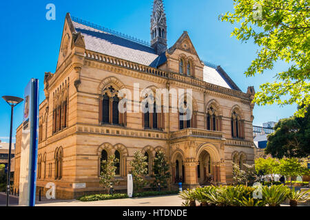 Adelaide, Australia - November 11, 2016:  The University of Adelaide – Mitchell Building on North Terrace in Adelaide - Stock Photo