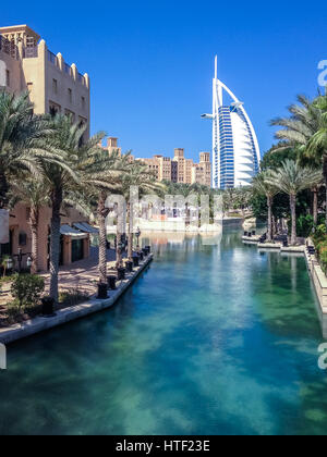 Luxury and relaxing view of Dubai - United Arab Emirates - Stock Photo