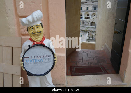 Matera, European 2019 Culture Capital. - Stock Photo