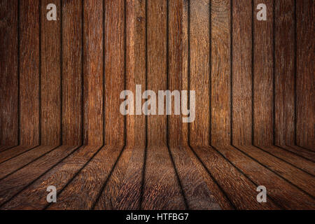 Old Wood Sign Oak Empty Wooden Room With Copy Space Rustic Planks Retro Background Texture