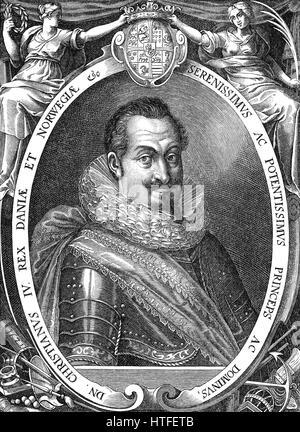 Christian IV, 1577 - 1648, King of Denmark and Norway