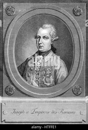 Joseph II, Emperor of Germany, 1741-1790 - Stock Photo