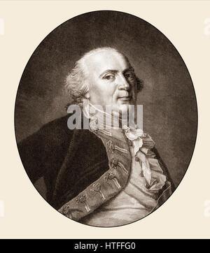 Frederick William II, Friedrich Wilhelm II., 1744-1797, King of Prussia - Stock Photo