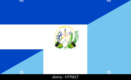 El Salvador Guatemala Flag Stock Photo 147238265 Alamy