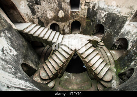 Underground mosque inside the Taman Sari Water castle complex in Yogyakarta - Java, Indonesia - Stock Photo