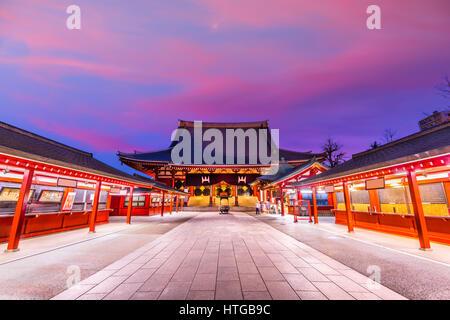 Tokyo, Japan temple. - Stock Photo