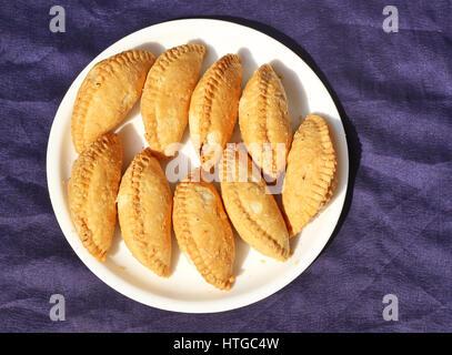 Gulab Jamun, Indian sweet - Stock Photo