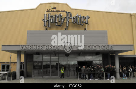 London, UK. 08th Mar, 2017. The Warner Bros' Harry Potter studio in London, United Kingdom, 08 March 2017. The Harry - Stock Photo