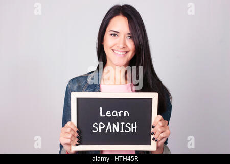 the story of spanish girl who learned the english language Immigrants' children grow fluent in english their native language, often speaking spanish at need to learn english because they can.
