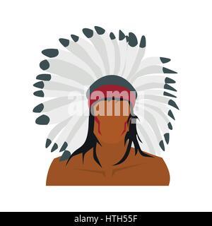 American indian icon - Stock Photo