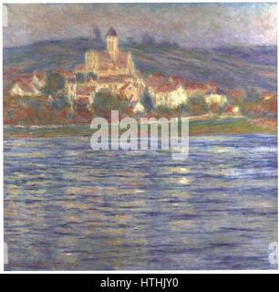 Claude Monet - Vetheuil, le matin, 1901 (Palais des Beaux-arts de Lille) - Stock Photo