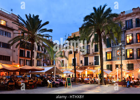 Placa de la Llotja, Palma, Mallorca, Spain - Stock Photo