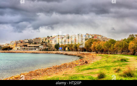 Mikrolimano marina in Piraeus, Athens - Greece - Stock Photo