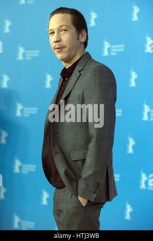 67th Berlin International Film Festival (Berlinale) - 'Django' - Photocall  Featuring: Reda Kateb Where: Berlin, - Stock Photo