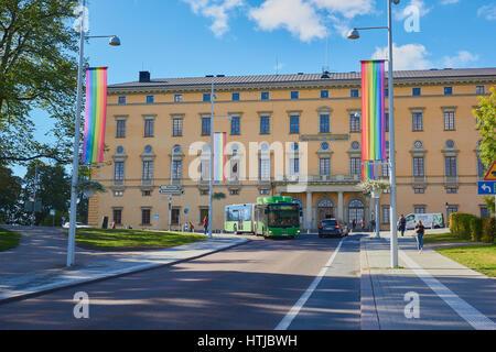 Carolina Rediviva main building of Uppsala University Library, built between 1820-1841, Uppsala, Sweden, Scandinavia