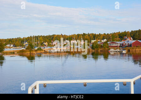 Island community in the Stockholm archipelago, Sweden, Scandinavia - Stock Photo