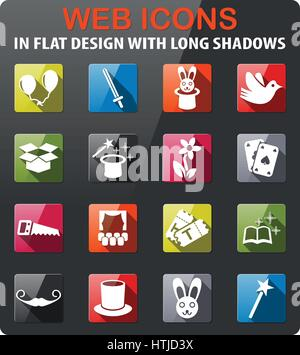 fortune teller icon flat stock vector art illustration. Black Bedroom Furniture Sets. Home Design Ideas
