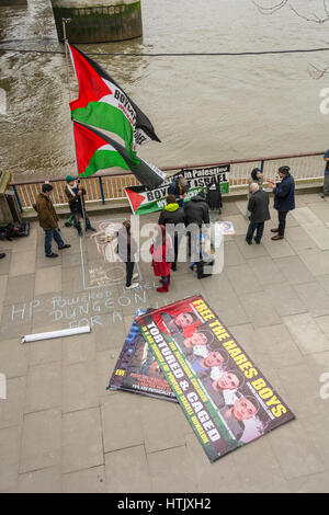 Free the Palestinian Hares Boys - Stock Photo