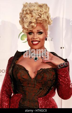 New York, NY, USA. 11th Mar, 2017. Peppermint in attendance for 2017 Imperial Court of New York's 31st Annual Night - Stock Photo