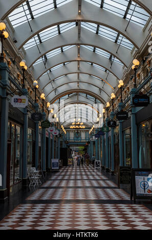 Great Western Arcade, Birmingham - Stock Photo