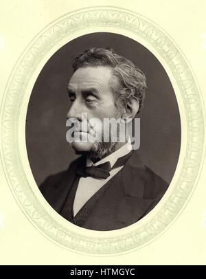 Anthony Ashley Cooper, 7th Earl (1801-1885) Shaftesbury, English factory reformer and philanthropist. From 'Men - Stock Photo