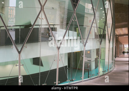 Museo del Novecento, Museum of the Twentieth Century, modern art museum, Palazzo dell'Arengario, Milan, Italy - Stock Photo