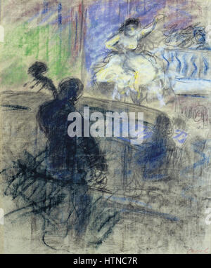 Ricard Canals - Music Hall Interior - Google Art Project - Stock Photo