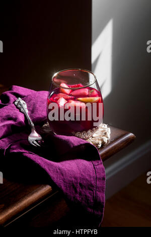 Sangria alcoholic drink - Stock Photo