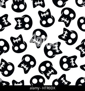 Illustration Seamless Pattern Pirate for the creative use in graphic design - Stock Photo