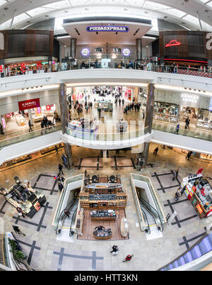 WestQuay shopping centre in Southampton - Stock Photo