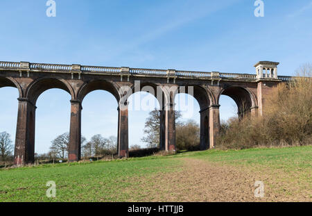 Ouse Valley (Balcombe) Viaduct, West Sussex, UK - Stock Photo