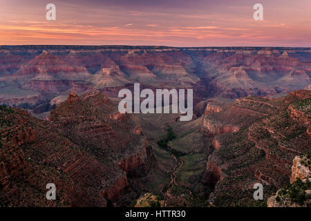 Superb Grand Canyon dawn - Stock Photo