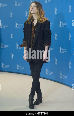 67th Berlin International Film Festival (Berlinale) - 'Final Portrait - Photocall  Featuring: Clémence Poésy Where: - Stock Photo