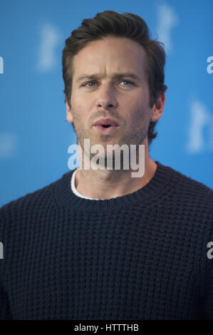 67th Berlin International Film Festival (Berlinale) - 'Final Portrait - Photocall  Featuring: Armie Hammer Where: - Stock Photo