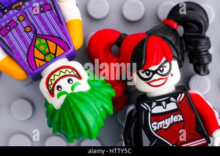 ... Tambov Russian Federation - February 11 2017 Two Lego Batman Movie minifigures - The & Tambov Russian Federation - February 11 2017 Two Lego Batman Movie ...