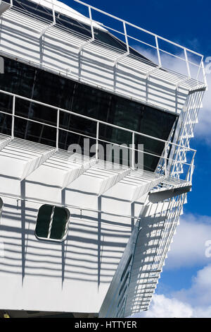 Abstract view of Carnival Cruises crusie ship Carnival Sunshine - Stock Photo