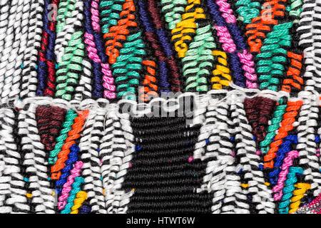 Guatemalan Textiles - Stock Photo
