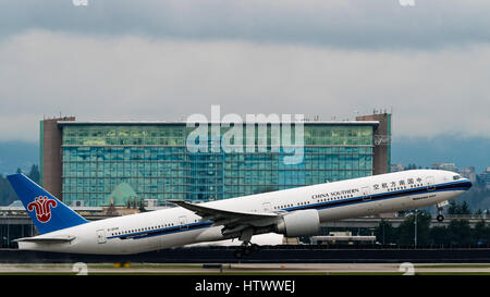 Air china boeing 777 300er b 2040 airliner departs from - China southern airlines london office ...