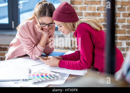 Two female designers - Stock Photo