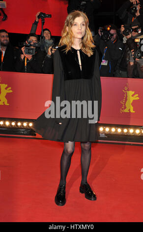 67th Berlin International Film Festival (Berlinale) - 'Final Portrait' - Premiere  Featuring: Clemence Poesy Where: - Stock Photo