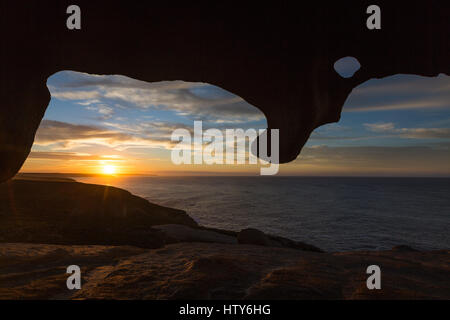 Remarkable Rocks - Kangaroo Island, South Australia - Stock Photo