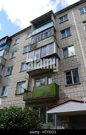 kovrov russia july 23 2015 five story brick apartment building stock - Brick Apartment 2015