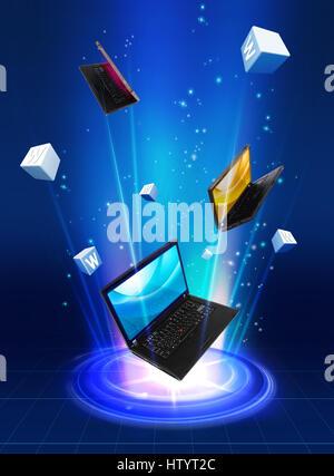 Future Technology - Stock Photo